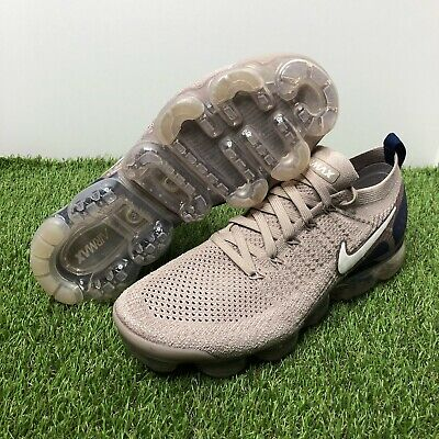 """Nike Air Vapormax Flyknit 2 """"Diffused Taupe"""" Sneaker 942842-201 Men's Size 10.5"""