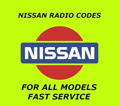 Nissan Radio Code Clarion Stereo Unlock Codes All Models Pin Code Within Minutes