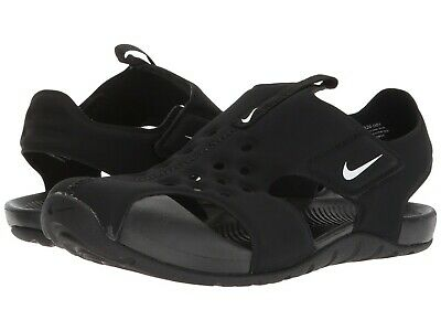 ccc30984f Nike SUNRAY PROTECT 2 (PS) Preschool Boys Black White 943826-001 Beach