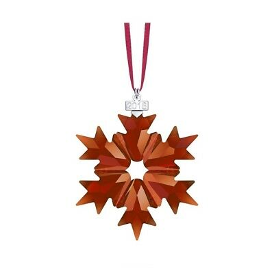 New Authentic Swarovski 2018 Annual Edition Christmas Ornament, Red  5460487