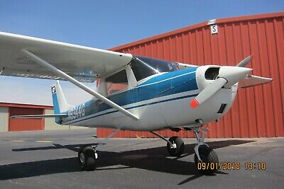 1965 Cessna 150 - Tt 3886.68, Tsmoh 443.68, New Crank, Leather, Always Hangared