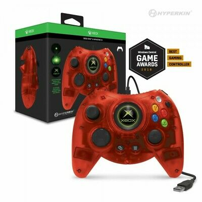 Hyperkin Xbox One Duke Wired USB Controller Red for Microsoft Xbox One and PC