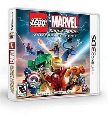LEGO: Marvel Super Heroes - Universe in Peril Nintendo 3DS, Brand New and Sealed