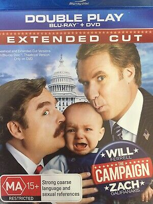 THE CAMPAIGN - BLURAY 2012 AS NEW!  *Bluray Disc Only - DVD Not Included*
