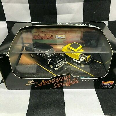 Limited Edition HOT WHEELS 25th Anniversary AMERICAN GRAFFITI CAR SET No 5276