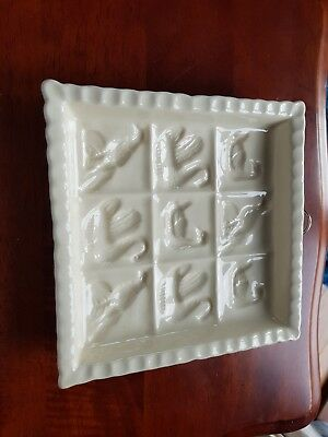 The Victorian Pottery 1869 Shortbread Mouldmade in England