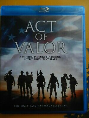 Act of Valor Blu Ray Only