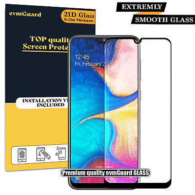 SAMSUNG Galaxy S8 Tempered Glass Screen PROTECTOR FILM Edge Cover - 100% Curved