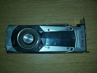 NVIDIA GeForce GTX 1070 Founders Edition 8GB GDDR5 PCI Express 3.0 Graphics Card