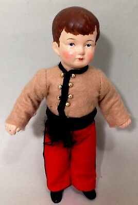 Vintage Porcelain hand made doll by Linda Jacobson doll artist