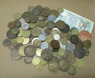 World Foreign Coins Mixed Lot of Over 1 lb
