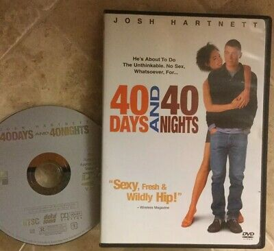 👀L@@K❗️40 Days and 40 Nights (2002) Disc Only-NO CASE ~ MINT & FAST SHIP❗️