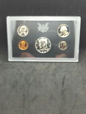 1969- S US Mint Proof Set - 5 coin set with 40% Silver Kennedy Half Dollar