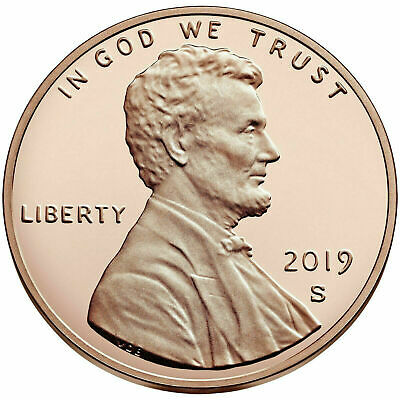 2019-S Proof Lincoln Shield Cent  Deep Cameo Proof Coin