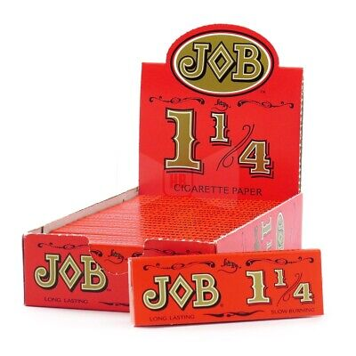 JOB Red 1 1/4 Rolling Papers 1.25 Buy 4 or More Only $.97 Per Pack *USA SHIPPER*