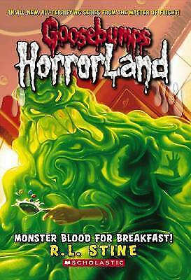 NEW Goosebumps Horrorland Monster Blood For Breakfast R.L Stine (Paperback) #3