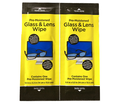 Gadget Glass&Lens Wipes Screen Cleaning Wet Wipes Laptop Glasses PC IPad Monitor