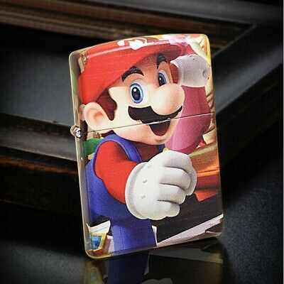 5 Sided Graphitti Super Mario Brothers Zippo Lighter - AU Shipping