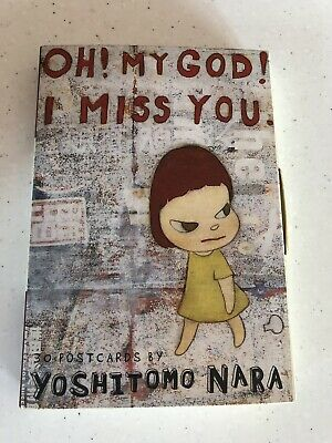 Oh God I Miss You! 30 Postcards By Yoshitomo Nara. To Send Or Keep. New. Collect