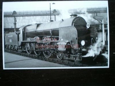 Photo  Sr Maunsell Lord Nelson 4-6-0 856 Lord St Vincent At Waterloo 1937