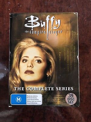 Buffy The Vampire Slayer box set The Complete Series- PAL-Season 1 2 3 4 5