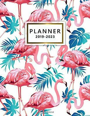 2019-2023 Planner: Tropical F by Nifty PlannersPretty Diaries New Paperback Book
