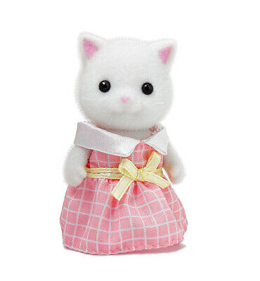 Sylvanian Families Calico Critters Persian Cat Twin Sister