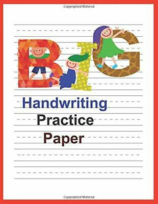 Handwriting Practice Paper With Dotted Lines For by Sid Books New Paperback Book