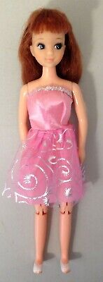 Vintage jointed Titan haired Hong Kong doll