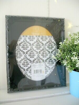 "Black Shabby Chic Photo Picture Frame Vintage Ornate Antique Style New 8"" x 10"""