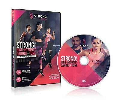 Strong by Zumba High Intensity Cardio Tone 60 min Workout DVD Michelle Lewin NEW