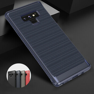For Samsung Galaxy Note 9/8/5 Case Carbon Fiber Texture Slim Protective Cover