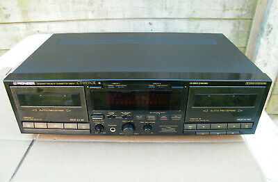 Platine Double Cassette Pioneer CT-W550R Dual Recorder/Player HX PRO K7