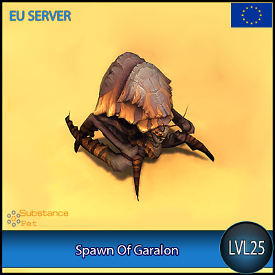Spawn Of Garalon lvl25 Pet BFA | All Europe Server | WoW Warcraft Loot
