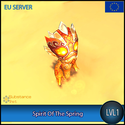 Spirit Of The Spring lvl1 Pet BFA | All Europe Server | WoW Warcraft Loot