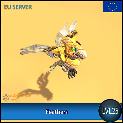 Feathers lvl25 Pet BFA | All Europe Server | WoW Warcraft Loot
