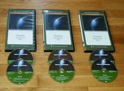 The Great Courses - 6-DVD Disc Course - Chemistry with GuideBook