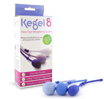 Kegel 8 weighted cones to restore pelvic floor. Incontinence female health