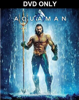 Aquaman (2018) DVD ONLY *** The disc has never been watched *** Jason Momoa
