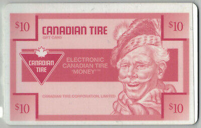 Canadian Tire Gift Card $10 Sandy