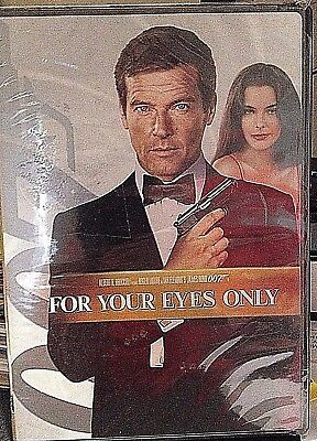 For Your Eyes Only (DVD, 2008 Sensormatic Widescreen) Roger Moore James Bond New
