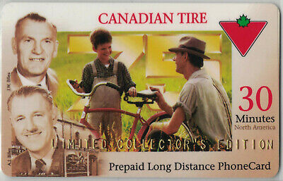 Canadian Tire Phone Cards - 3 Cards lot#ctc387