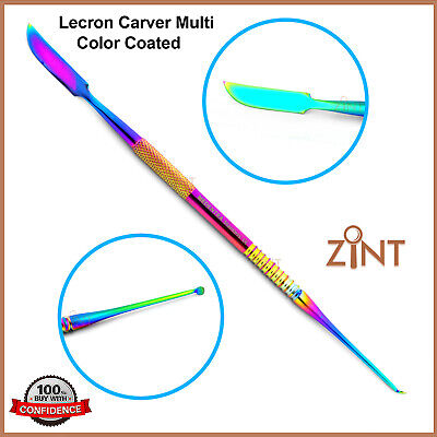 Dental Lab Technicians Lecron Waxing Carver Multi Coated Laboratory Tools New