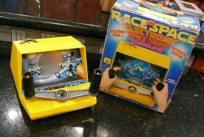 COLECO Race thru Space Vintage Handheld Electronic Tabletop Video Game ✨TESTED✨