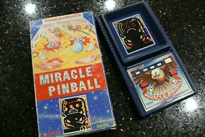 CASIO PINBALL Vintage Handheld Electronic Tabletop Arcade Video Game ✨STILL NEW✨