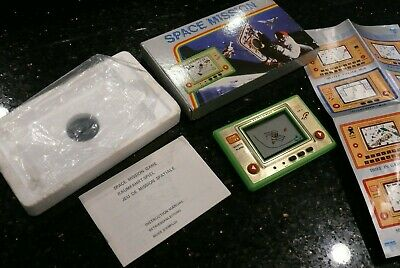 Space Mission Vintage Handheld Electronic Arcade Video Game & Watch ✨NEW IN BOX✨