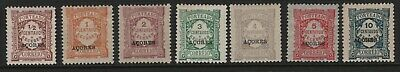 Portugal - 1918 Azores - Postage Due - Complete Set. Mint Hinged