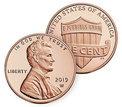 2019 W Lincoln Shield Cent Gem Deep Cameo Proof Penny In Stock! - FREE SHIPPING