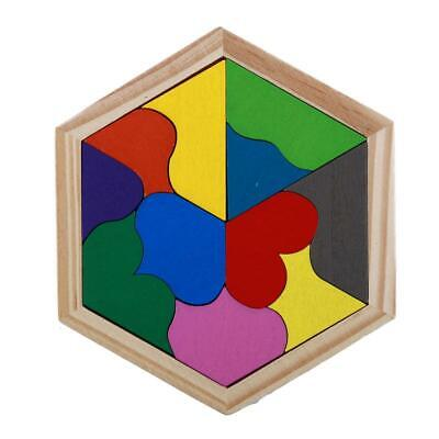 Educational Wooden Puzzle Baby Play Junior Tangram Learning Blocks  Baby Toy Y