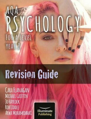 AQA Psychology for A Level Year 2 Revision G by Cara Flanagan New Paperback Book